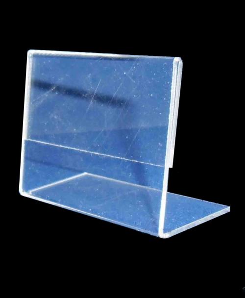 Ценник №5 Прозрачный пластик.