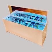 Ультрафиолетовый стерилизатор для оправ и очков.